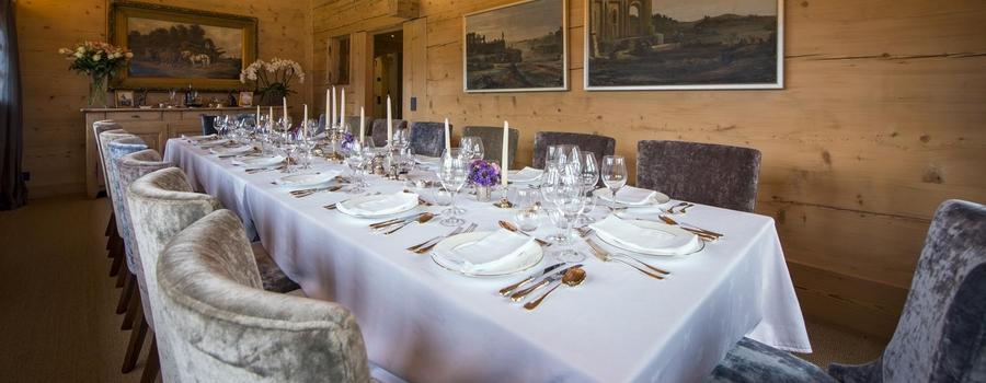 Chalet Lottie Gsdaat Dining Room