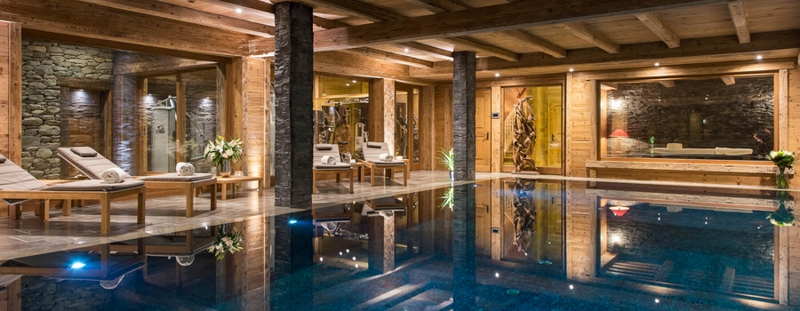 Mon Izba Verbier Indoor Pool