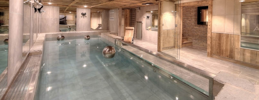 Chalet Deer Megève Indoor Pool