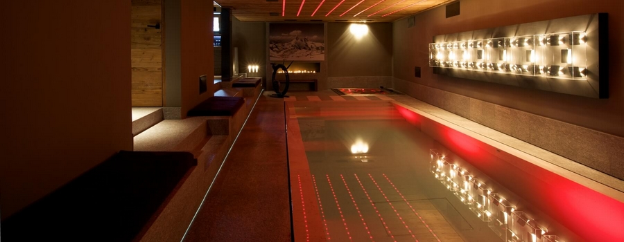 Chalet Lampas Megeve Indoor Pool