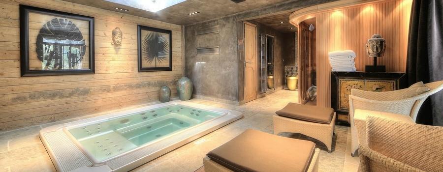 Chalet Etoile Megeve Spa Room