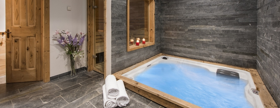 Chalet Jasmine Verbier Indoor Hot Tub