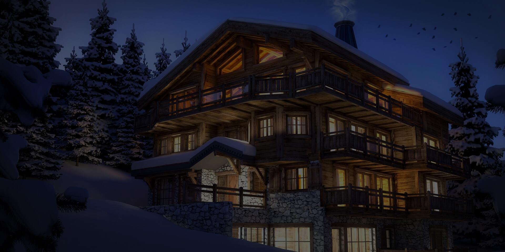 Luxury chalets Ski resorts