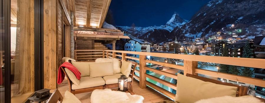 Chalet Elbrus Zermatt Mont Cervin View