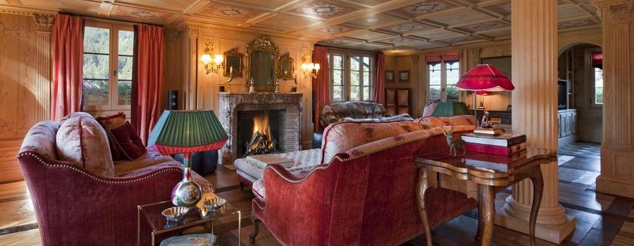 Chalet Etesian Gsdaat Living Room