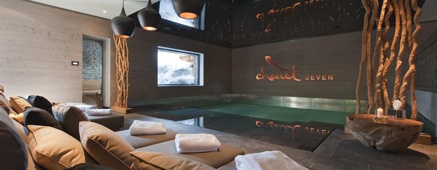 Chalet Seven Crans Montana Indoor Pool