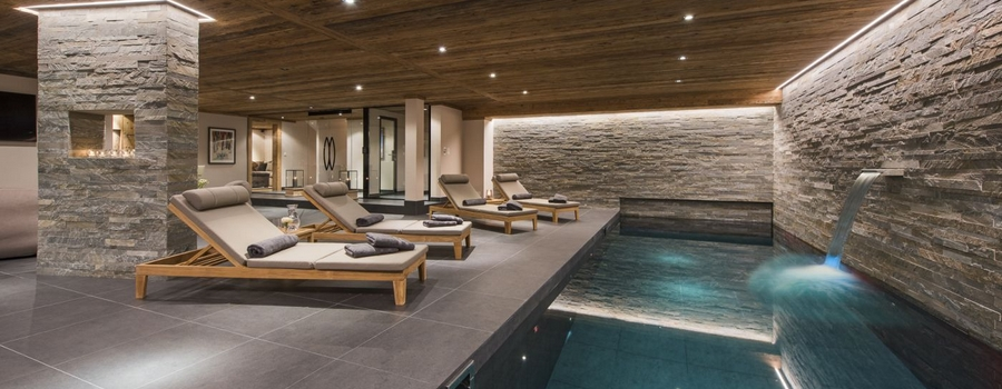 The Alpine Estate Verbier Indoor Pool
