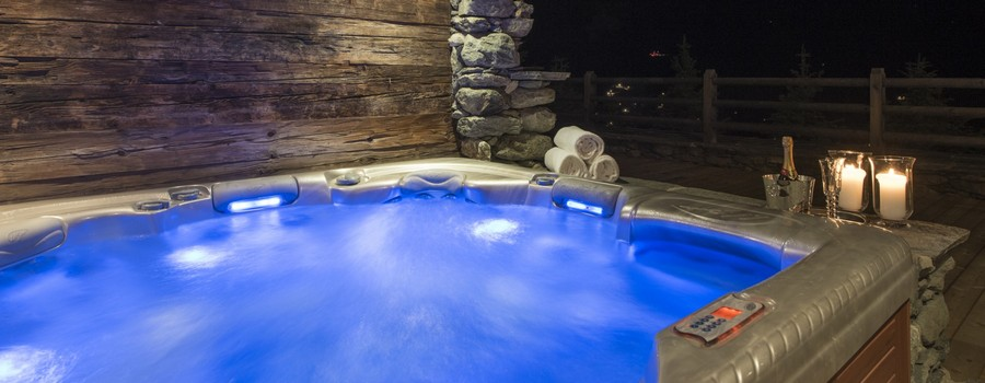 Chalet Orsini Verbier Indoor Hot Tub