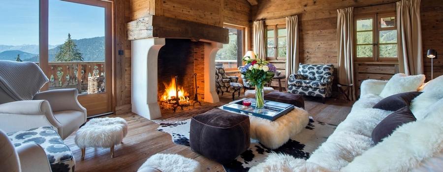 Chalet Tesseln Verbier Living Room