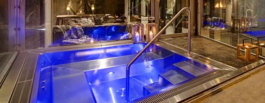 The Backstage Loft Zermatt Indoor Pool