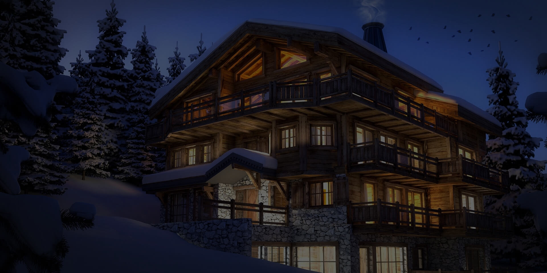 Luxury chalets Ski resorts