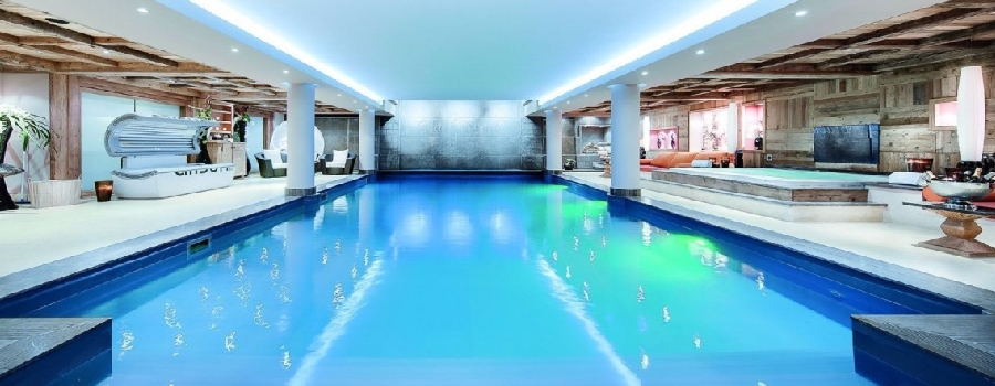 Chalet Black Pearl Courchevel 1850 Swimming Pool